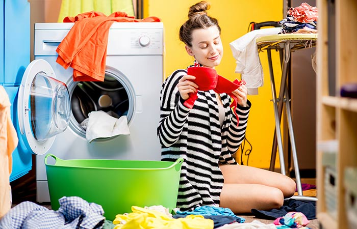 9. Machine Washing Your Bras Is Acceptable