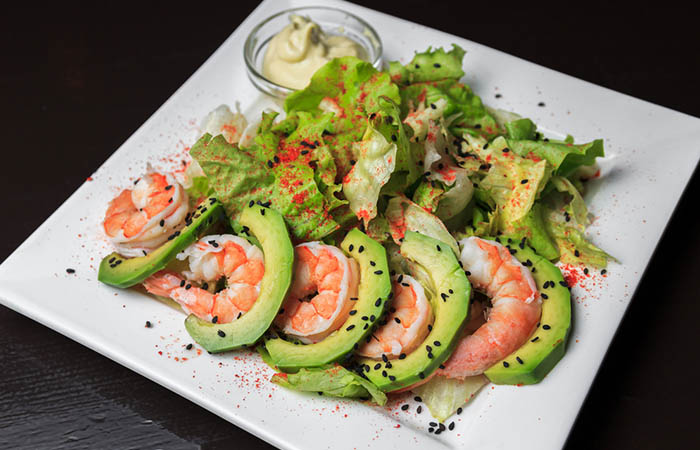 Avocado Recipes - Avocado Shrimp Salad