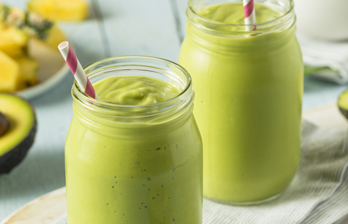 Avocado Spinach & Orange Smoothie