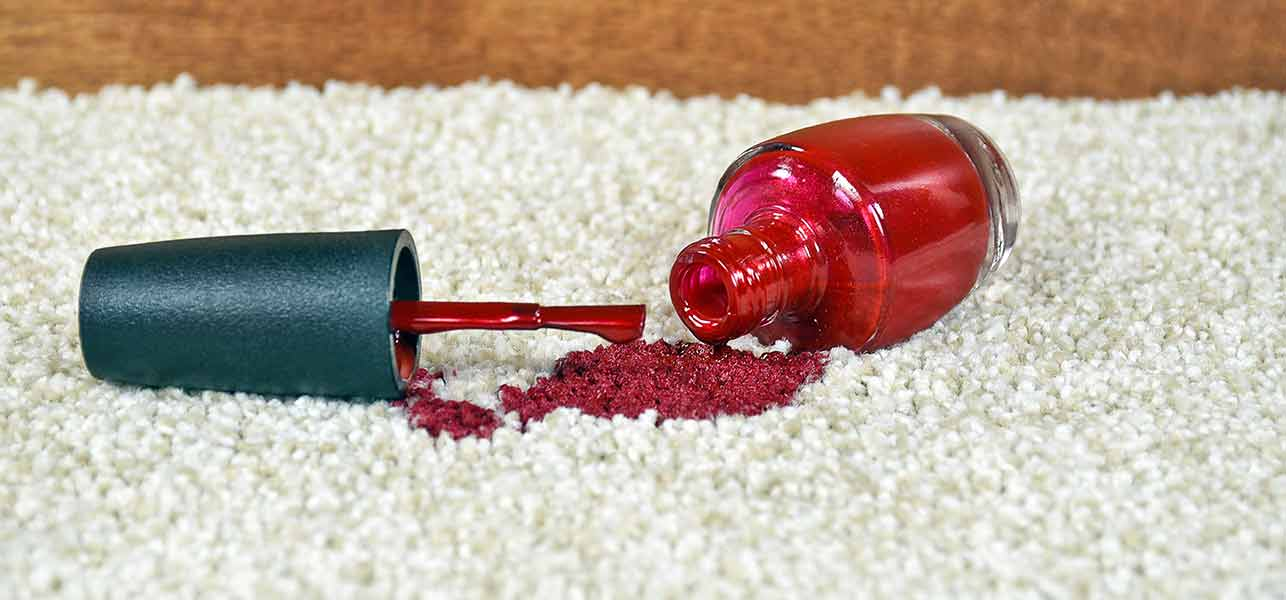How To Remove Nail Polish From Clothes, Carpets, And Upholstery