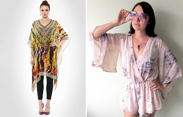 2. Kimono Sleeves