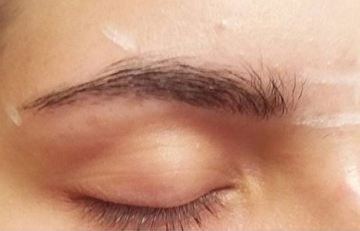 Eyebrow Tinting At Home - Simple Tinting of Eyebrows - Step 1: Run the Spoolie/Clean Mascara Wand