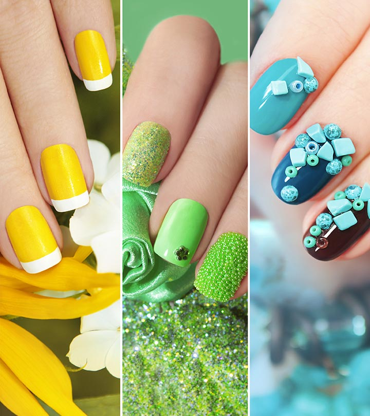 50 Creative Acrylic Nail Designs With Step by Step Tutorials