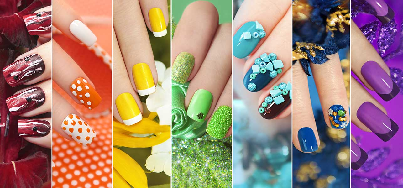 50 creative acrylic nail designs with step by step tutorials top 50 acrylic nail designs prinsesfo Gallery