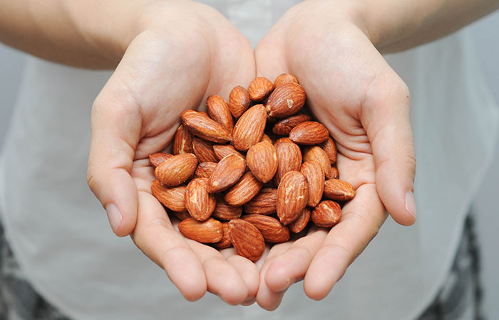 1. Raw Almonds