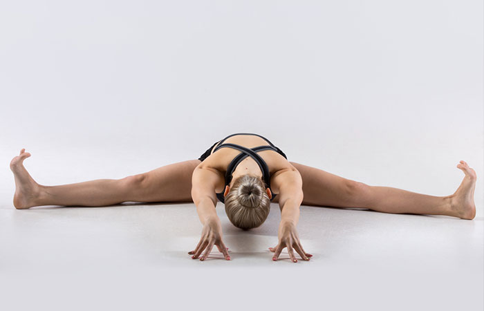 2. Upavistha Konasana (Seated Wide-Angled Pose)