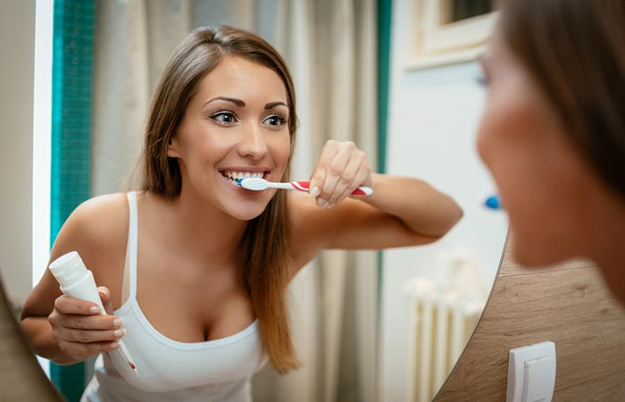 7. Brush Your Teeth