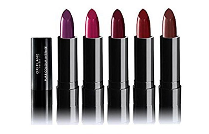 Best Oriflame Beauty Products - 8. Oriflame Pure Colour Intense Lipsticks