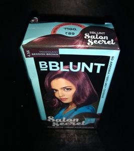 BBlunt Salon Secret Mahogany Reddish Brown Review
