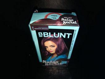 BBlunt Salon Secret Mahogany Reddish Brown Review