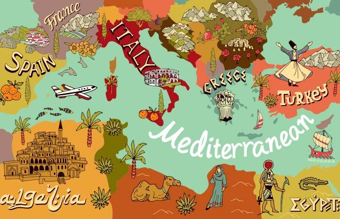 Evolution Of The Mediterranean