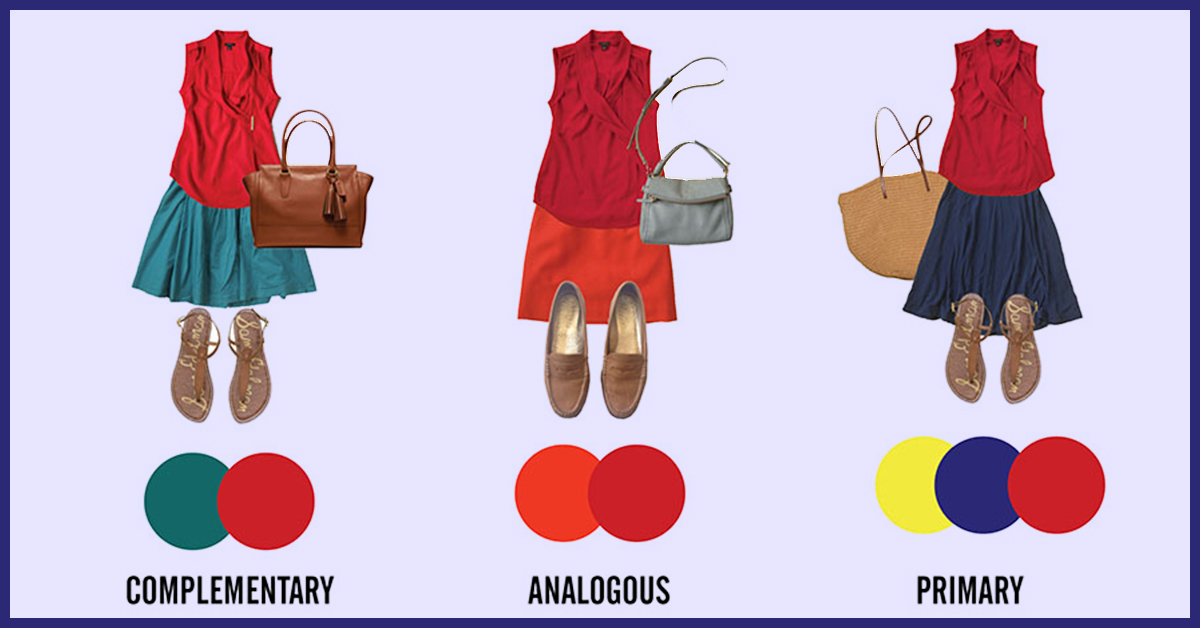 How To Match Colors In Your Clothes With Color Wheel Guide