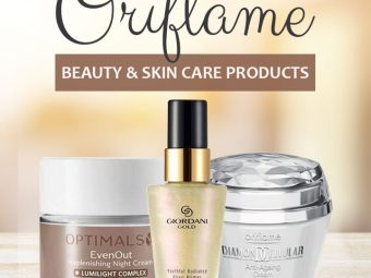 Oriflame Beauty And Skin Care Products