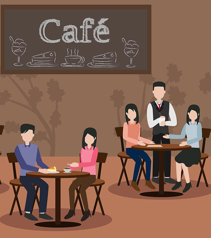 Which Table Would You NOT Like To Sit At? Your Answer Will Reveal What's Bothering You!