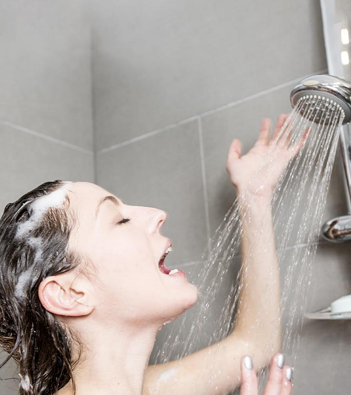 Why You Shouldn't Wash Your Face In The Shower According To Experts