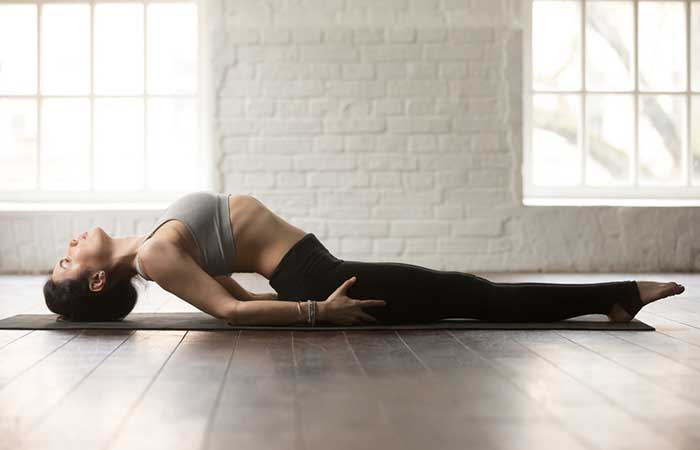 1. Matsyasana (Fish Pose)