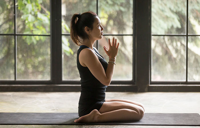 1. Virasana (Hero Pose)