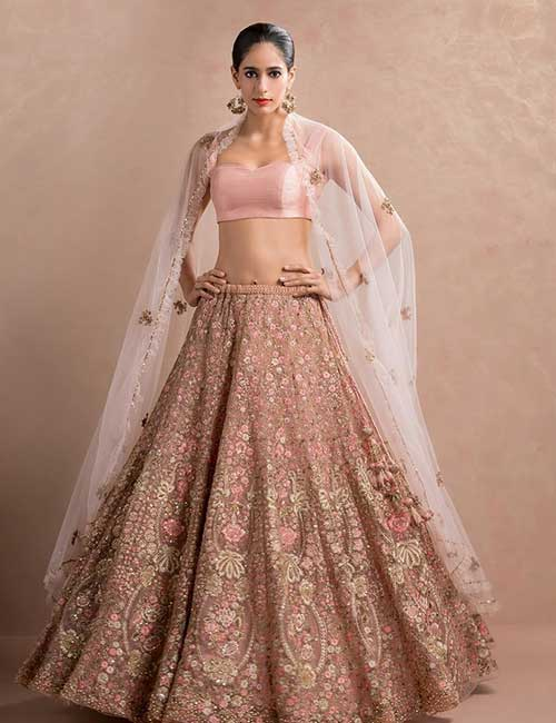 10. Pastel Colored Lehenga