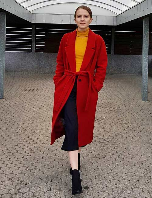 How To Wear Culottes - With A Trench Coat Or Jacket