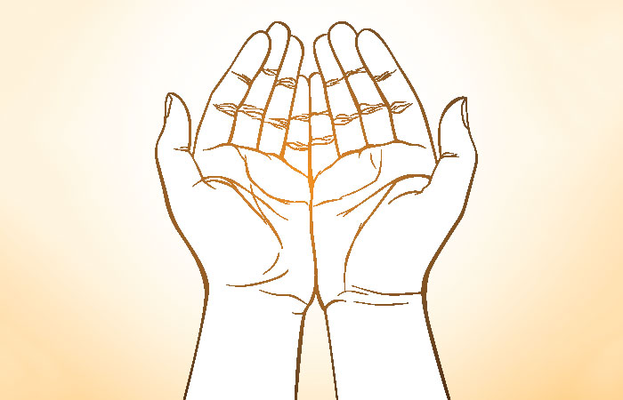 2. If The Love Lines On Both Your Palms Are On The Same Level