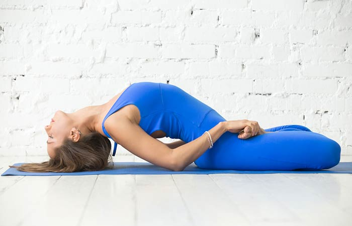 2. Matsyasana (Fish Pose)