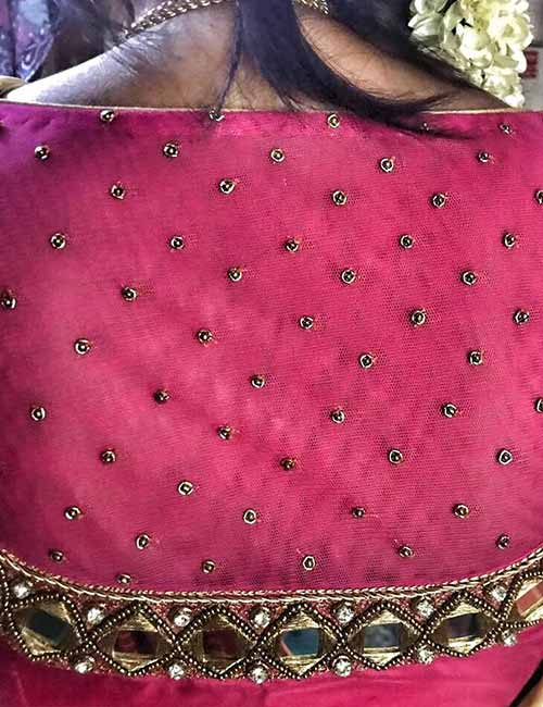 patch work blouse design video download