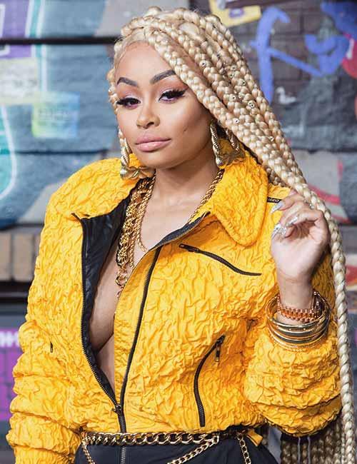 3. Platinum Blonde Jumbo Box Braids