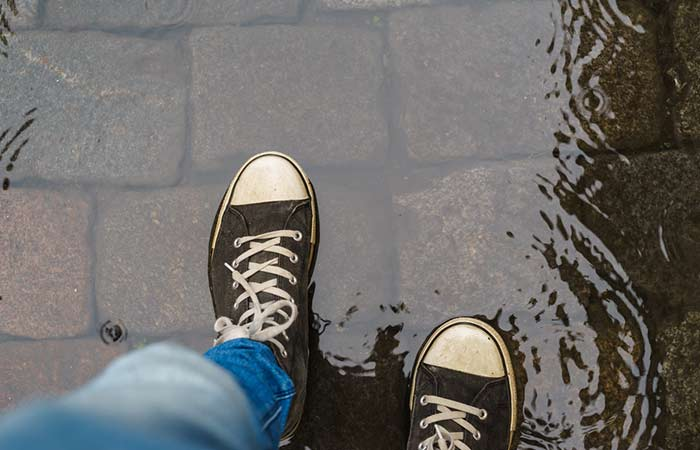 3. Rain Wrecking Havoc On Your Favorite Shoes No More Tears.