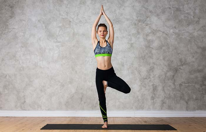 3. Vrikshasana (Tree Pose)