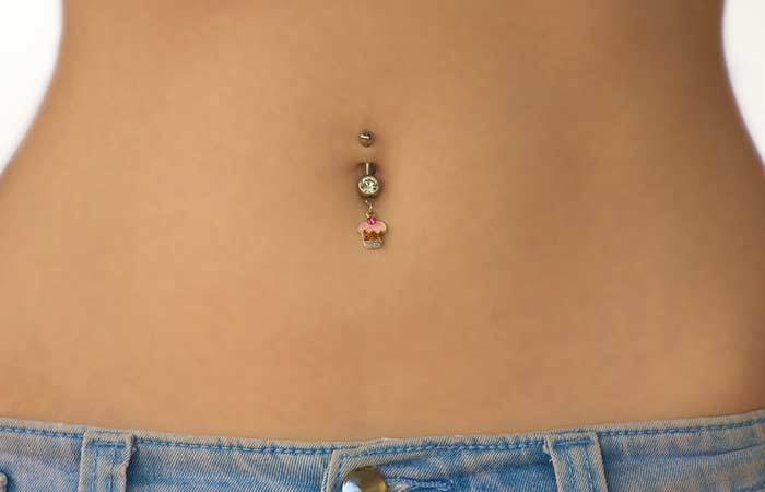 4. The Hour-glass Belly Button