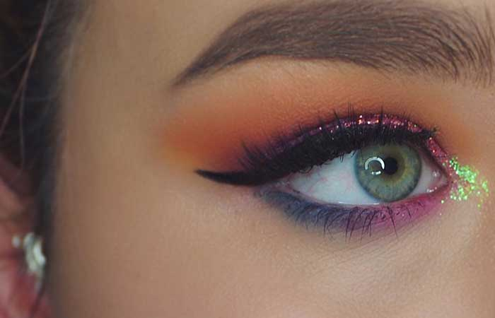 5. Makeup - Vibrant And On-point