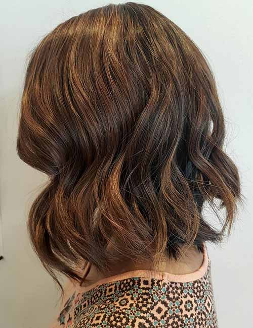 5. Maple Brown Highlights