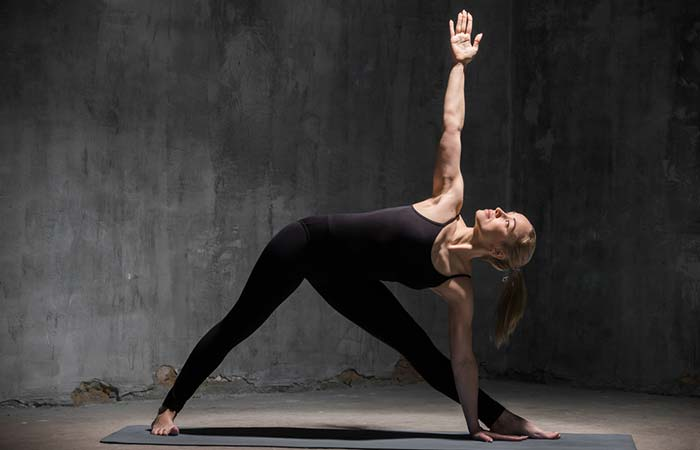 5. Trikonasana (Triangle Pose)