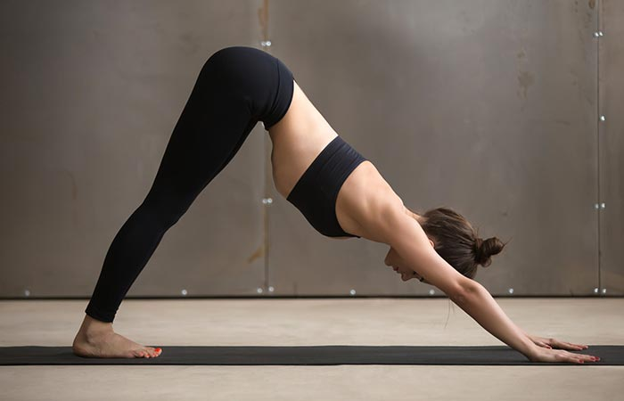 6. Adho Mukha Svanasana (Downward-Facing Pose)