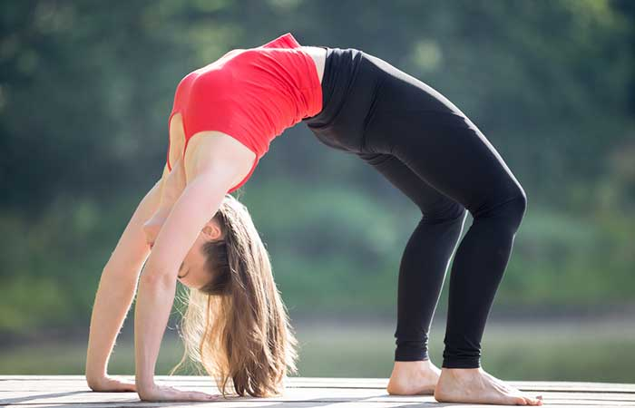 6. Chakrasana (Wheel Pose)