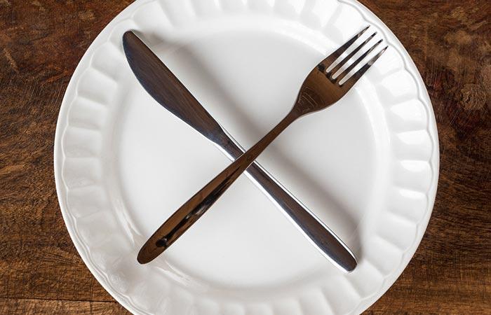6. You Skip Meals