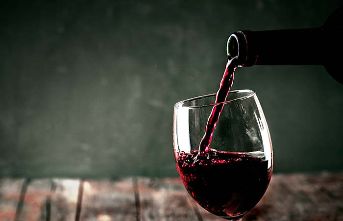 Ok, Fine. But Red Wine, Seriously
