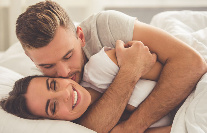 Ritual No. 1 Before Getting Started With Your Busy Work Day, Always Cuddle In The Bed You Share, Every Morning