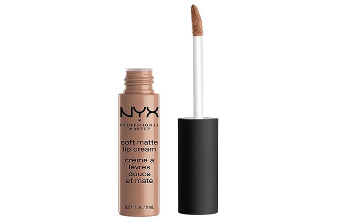 Best Drugstore Matte Lipsticks - 1. NYX Soft Matte Lip Cream in 'London'