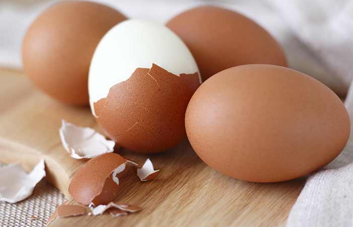 1. Peeling Hard Boiled Eggs Made Easy