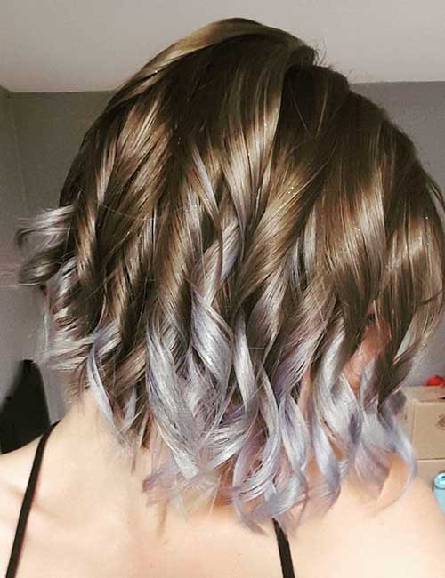 1. Silver Tinted Lavender Ombre