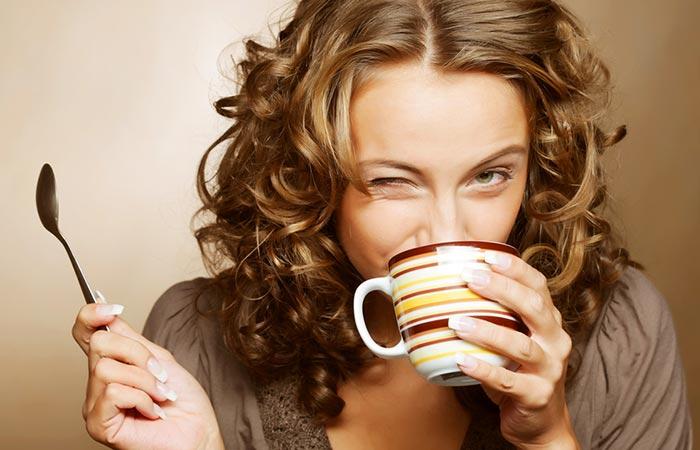 1.Drinking Coffee