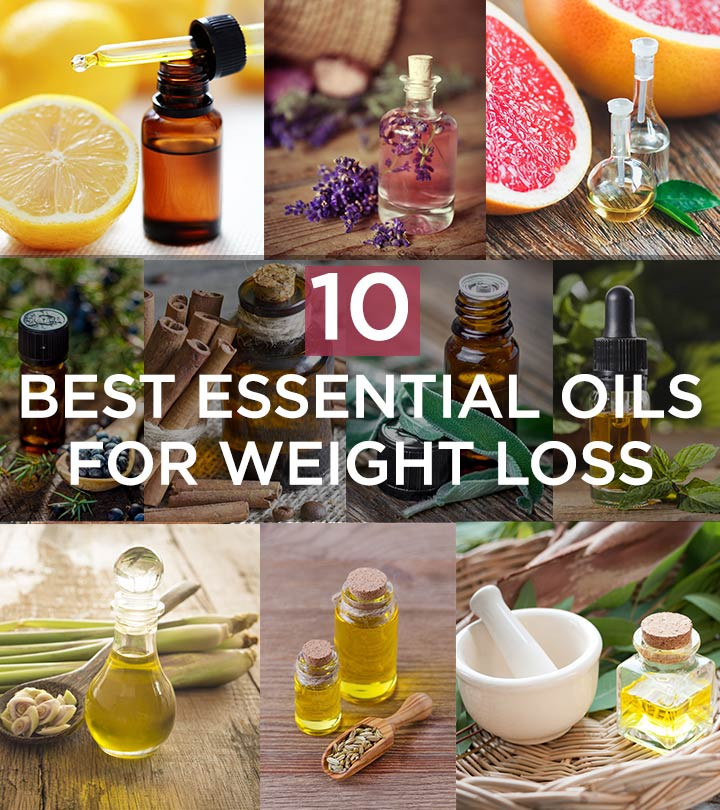 10 Best Essential Oils To Lose Weight