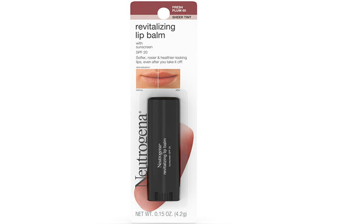 11. Neutrogena Revitalizing Lip Balm
