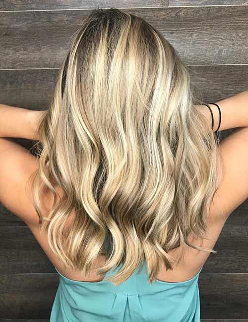 11. Blonde Root Melt