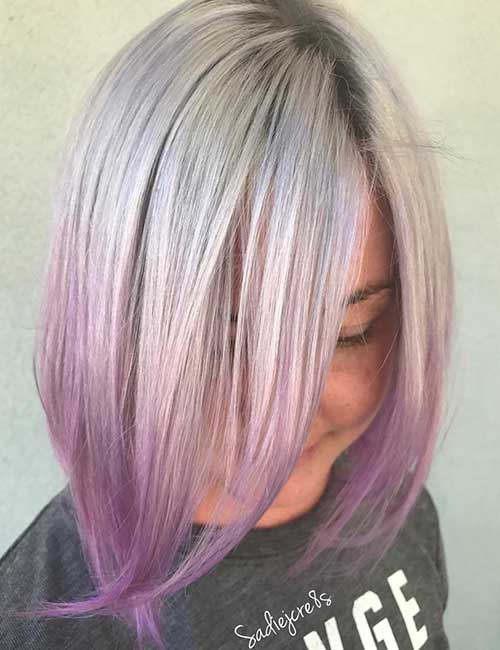 11. Icy Lavender Ombre
