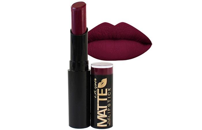 Best Drugstore Matte Lipsticks - 11. L.A Girl Matte Flat Velvet Lipstick in 'Va Voom'