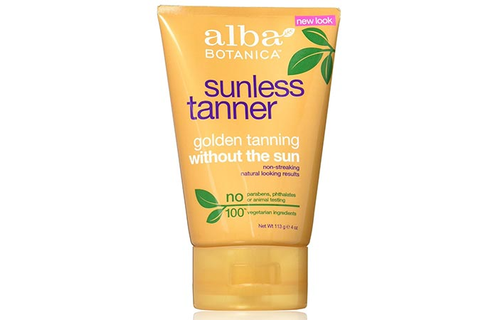 Best Self Tanners For Face - Alba Botanica Sunless Tanning Lotion