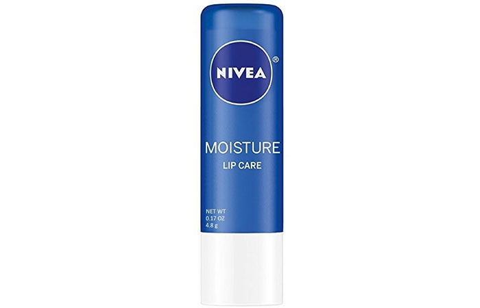 12. Nivea Moisture Essential Lip Care