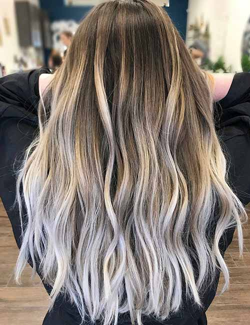Ash Blonde Highlights On Dark Brown Hair Find Your